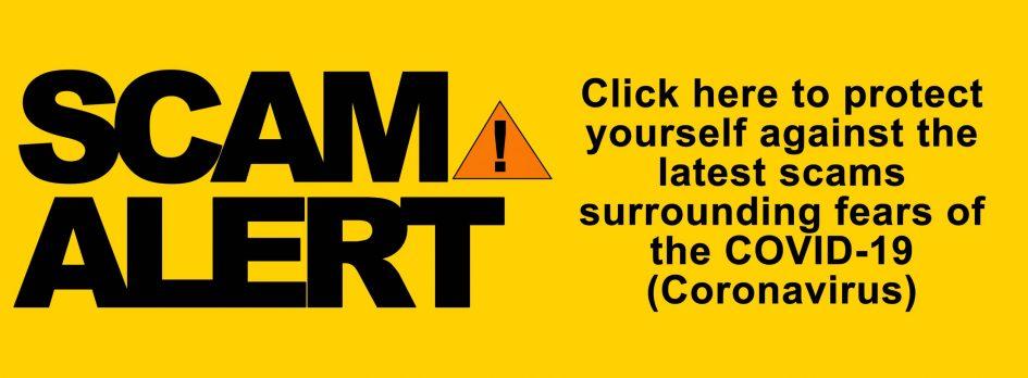 COVID Scam warning